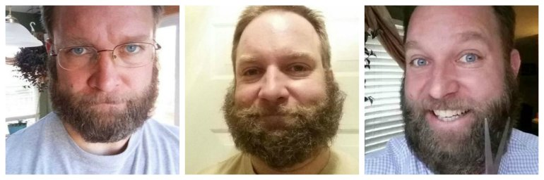 The many bearded faces of Scott Sabol