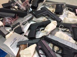 Police gang impact unit guns (Photo: Jim Pijor/FOX 8 News)