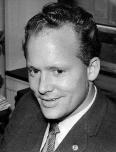 Danny Greene is elected president of the International Longshoreman's Association in 1961. (The Cleveland Press Collection, Cleveland State University Library)
