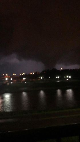 Tornado captured in Dayton