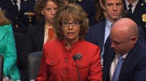 Gabby Giffords testifies at Senate Hearing
