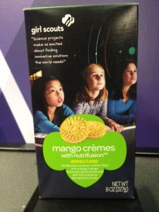 Girl Scout Cookies, Mango Cremes