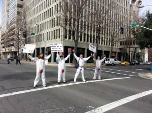 circumcision protestors