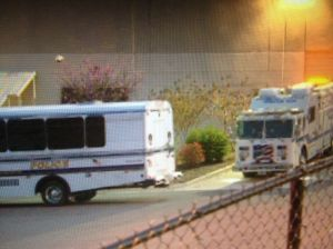 Hazmat Truck Sits Outside of MD Mail Sorting Facility After Deadling Ricin Envelope Intercepted