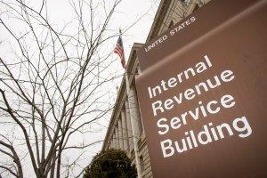 IRS building exterior in Washington D.C.