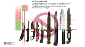 TSA Allows Knives