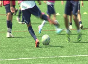 Youth Athletes Brave the Heat