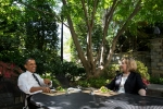 President Barack Obama and Hillary Clinton have lunch