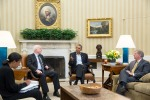 Obama Meets with Sen McCain and Sen Graham on Syria