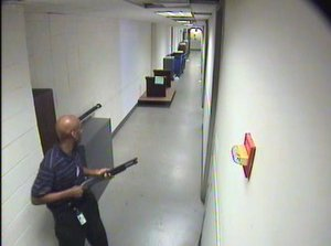 FBI Releases Images from Navy Yard Shooting