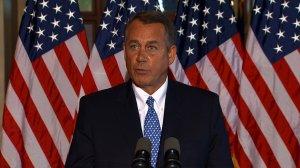 Speaker Boehner Press Conference