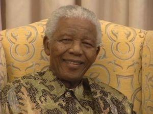 Nelson Mandela celebrates 90th birthday.