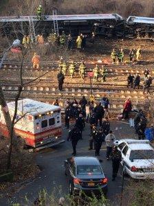 New York City Train Derailment