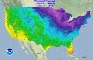 temperature map, weather, national