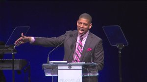 Kevin Johnson Delivers State of the City Address
