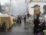 Kiev City Centre Protests