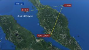 Malaysia Missing Plane Off Course