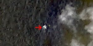 China satellite images may show Malaysia crash site