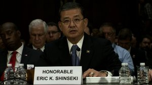 Shinseki 'mad as hell' about VA allegations, but won't resign