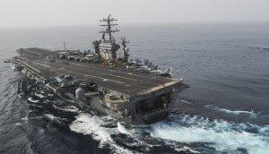 USS Nimitz Transits the Gulf of Oman