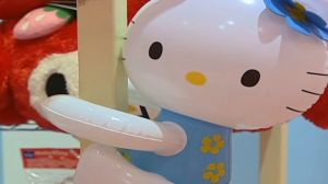 Images from inside a Hello Kitty theme park in Tokyo, Japan. Courtesy: CNN