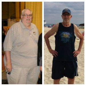 Jeff Baxter, a language arts teacher from Kansas City lost 270 pounds from previously tipping the scale at 465.