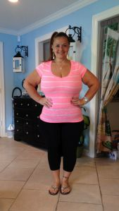 She created a Facebook page to inspire other people to change their diet and exercise more. Courtesy: Danyeil Durrant