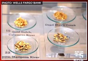 Images of the stolen gold nuggets. Courtesy: KPIX