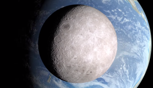 A computer image of the other side of the moon. Courtesy: NASA