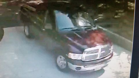 Suspect vehicle (Placer County Sheriff's Office)