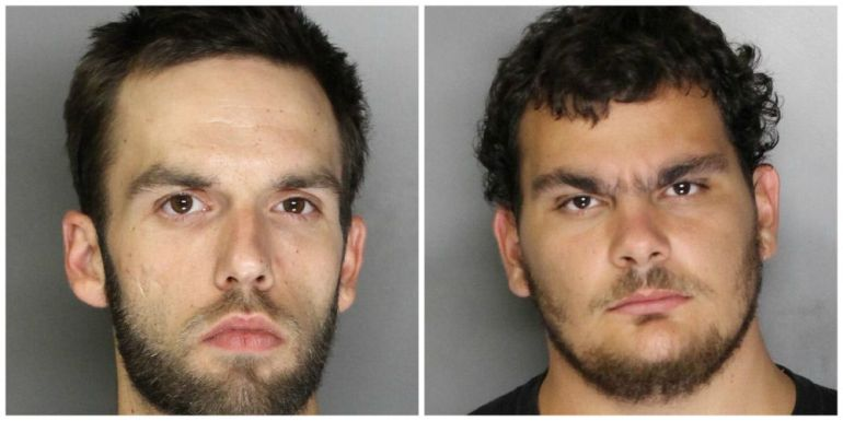 Damon Batson, 28, and Carlos Gonzalez, 25, were arrested Aug. 28 after a video they posted to social media showed them firing a gun in the air.