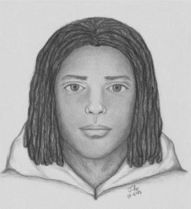 A police sketch of the assault suspect. (Courtesy: Sacramento Police)