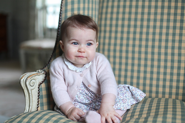 ANMER HALL, ENGLAND - UNDATED:  In this undated handout photo provided by HRH The Duchess of Cambridge, Princess Charlotte of Cambridge is seen at Anmer Hall earlier this month taken by Catherine, Duchess of Cambridge in Sandringham, England. (Photo by HRH The Duchess of Cambridge via Getty Images)