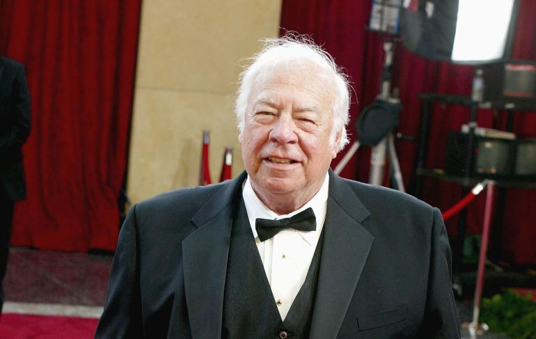 Actor George Kennedy attends the 75th Annual Academy Awards at the Kodak Theater on March 23, 2003 in Hollywood, California.  (Photo by Kevin Winter/Getty Images)