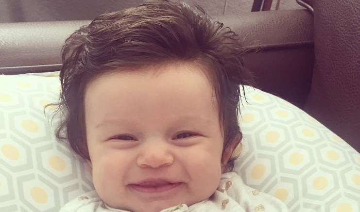 A baby s picture went viral because of her thick full head of hair. It sparked a photoshop battle on Reddit where users made the baby into a meme.