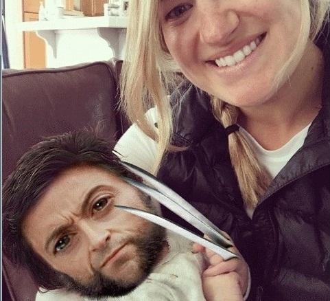 Reddit user Mark Harper saw a hair resemblance with Wolverine. (Photo Courtesy: @davepollotart)