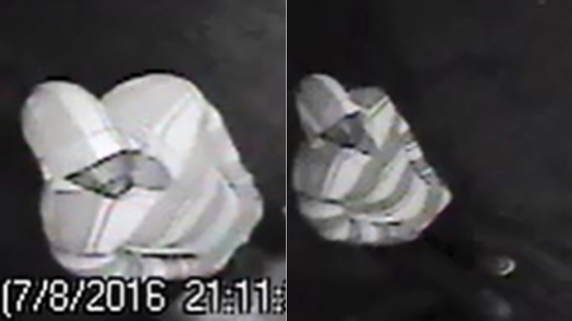 San Bernardino police released these surveillance images of a man suspected in a shooting that left two men and a 9-year-old boy dead on July 8, 2016.