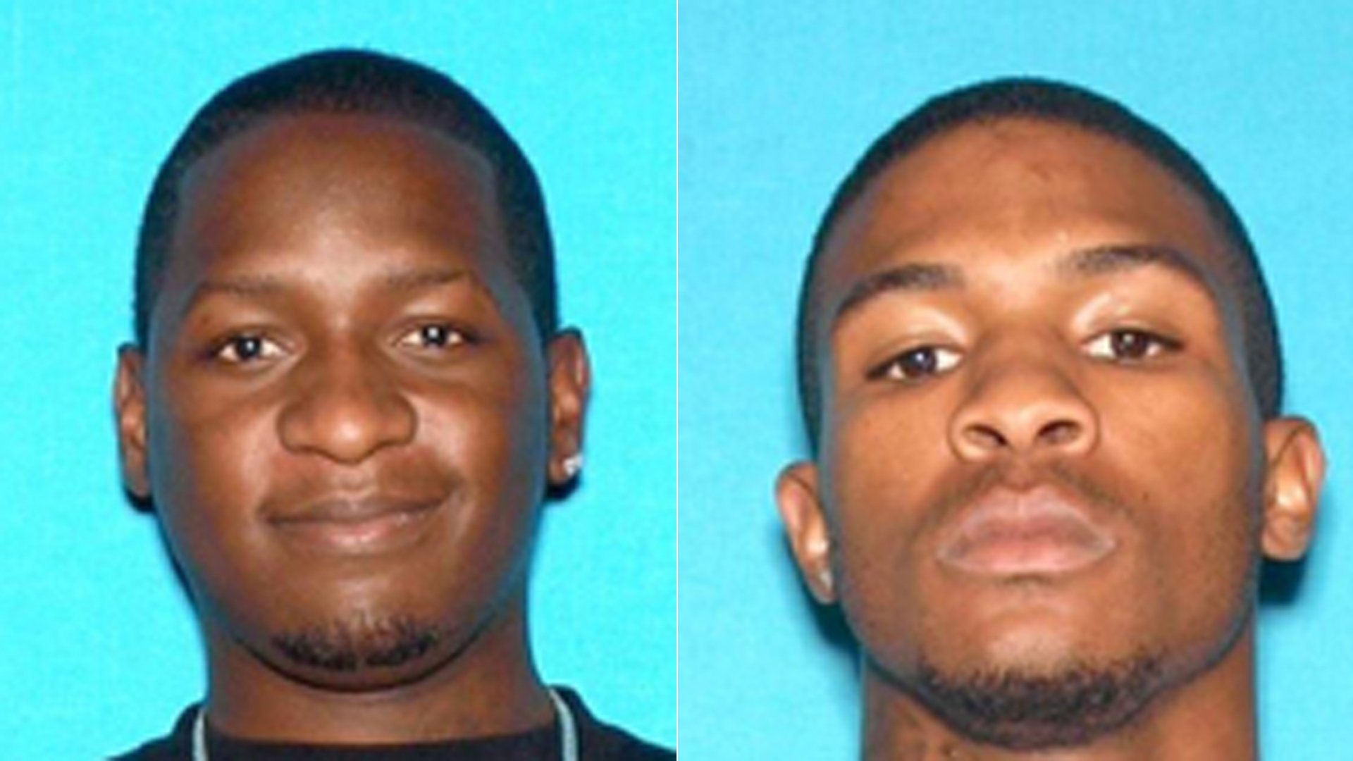 Travon Lamar Williams, left, and Samathy Mahan, right, are seen in a photos released by the San Bernardino Police Department on July 9, 2016.