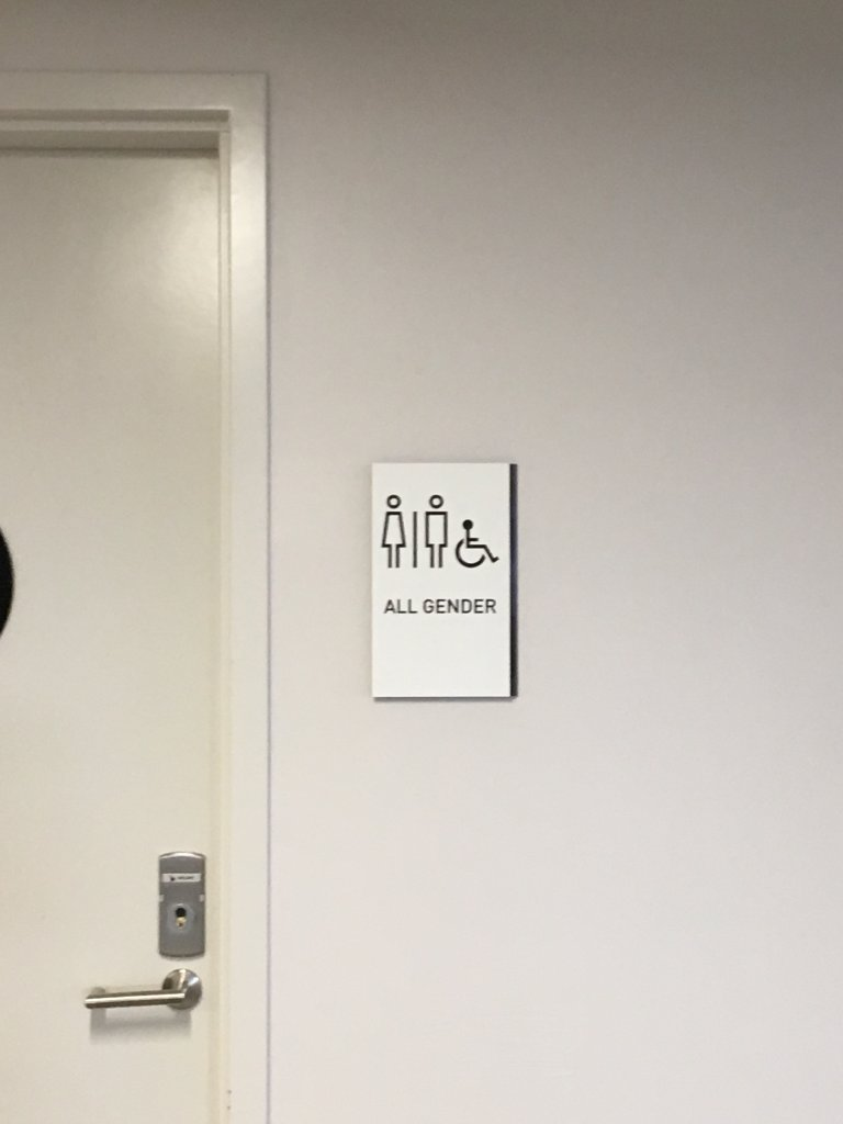 Many of the Golden 1 Center's bathrooms are gender neutral