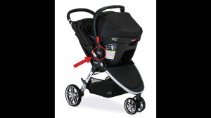 Britax Child Safety Inc. has recalled more than 700,000 strollers with Click & Go receiver mounts due to a fall hazard, the US Consumer Product Safety Commission announced Thursday, Feb. 16, 2017. Credit: U.S. Consumer Product Safety Commission