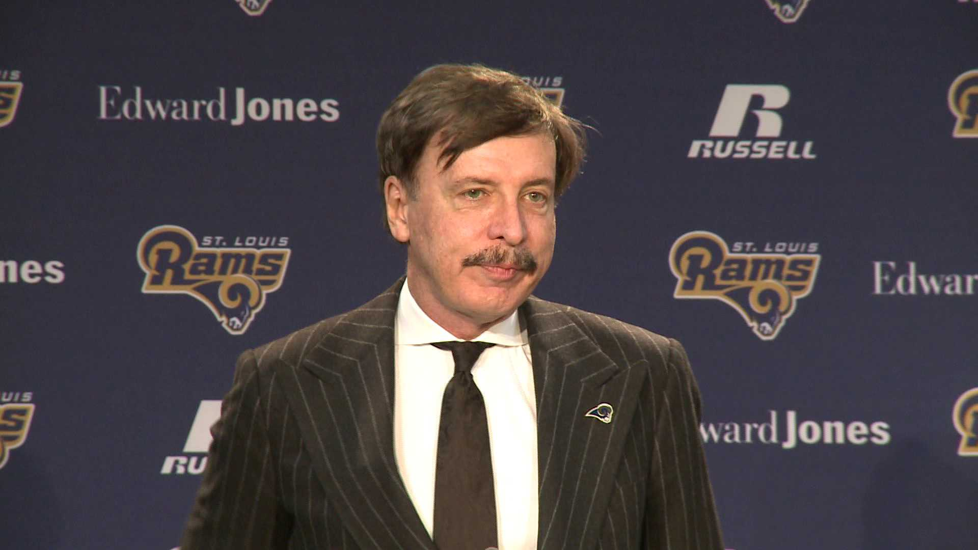 Rams owner Stan Kroenke.