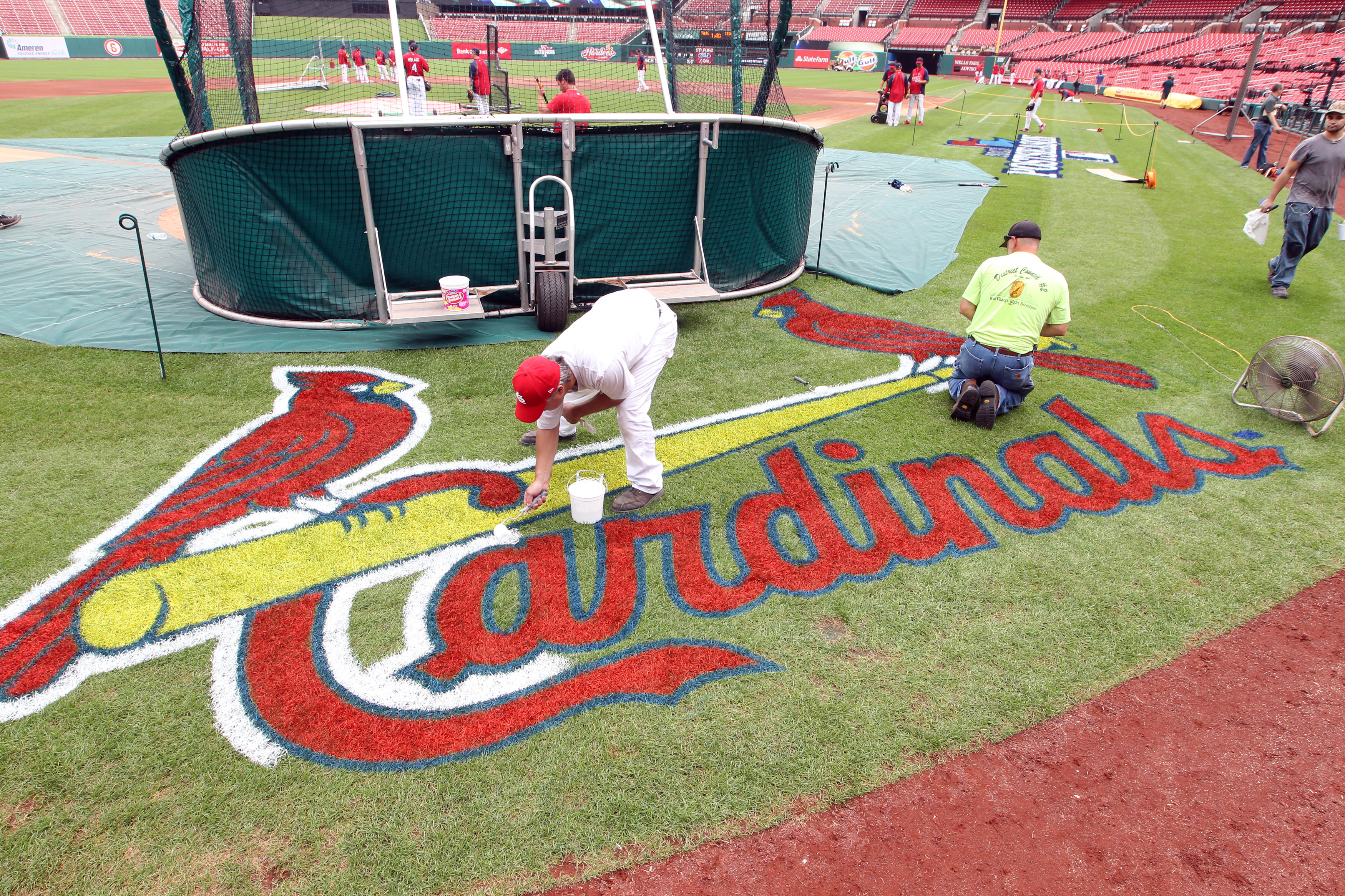 St. Louis Cardinals prepare for opening game of NLDS