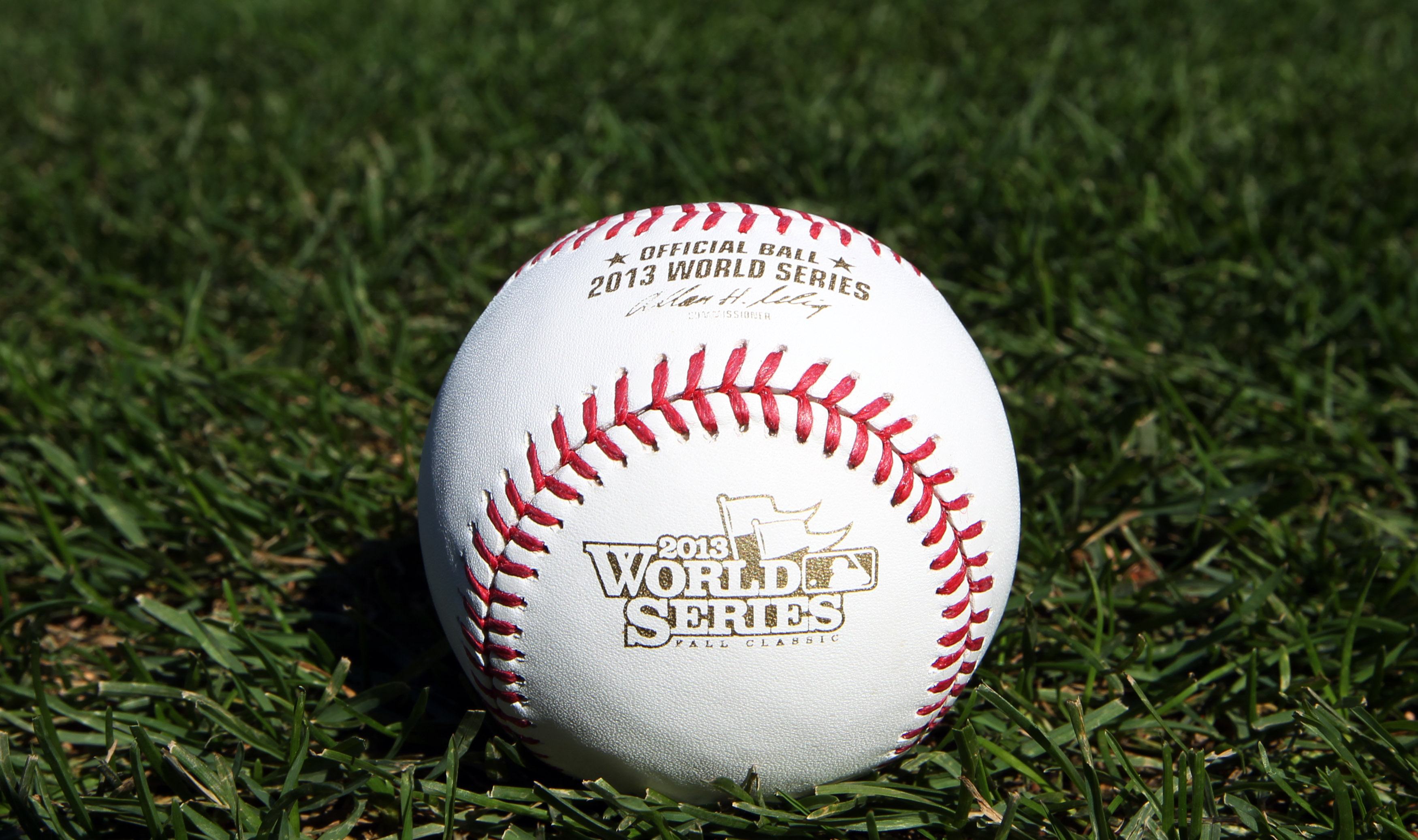 Rawlings Sporting Goods Company releases 2013 World Series baseball