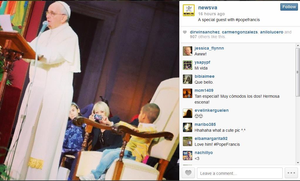 vatican instagram