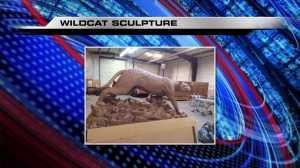wildcat sculpture