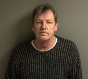 Michael T. Wieners was well-known to law enforcement before he caught national headlines for killing two of his former friends. Claiming self-defense, he was not charged. In this 2014 photo, courtesy of the Franklin County Sheriff's Department, officials said he was being booked for driving while intoxicated.  Photo courtesy of STL Today.