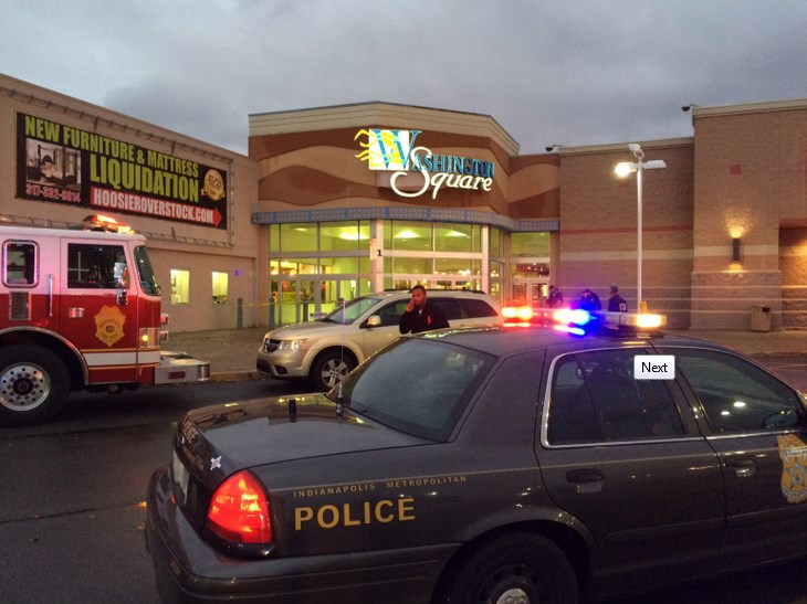 Washington Square Mall in Indianapolis, Indiana. (Fox 59, Twitter)