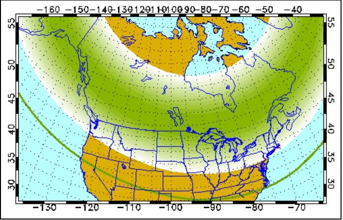 Nov. 2, 2015: Aurora forecast from the Geophysical Institute at the University of Alaska Fairbanks