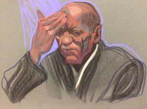 Bill Cosby in court on May 24th in Norristown, PA.