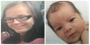 Katherine Elizabeth Derleth, 13, and her infant son, Christopher Ray Derleth